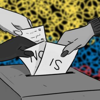 Quienes quieran participar en el plebiscito deberán votar en el mismo lugar en el que lo hicieron en las últimas elecciones.   ALDIA.CO