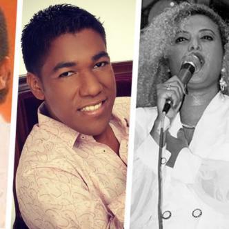 Jesús Manuel Estrada, Kaleth Morales, Patricia Teherán, Adaines Díaz   Cortesía