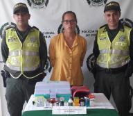 María Villalobos Vera, 23 años, fue capturada en las últimas horas en Luruaco. | Cortesía