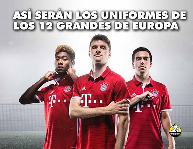 Esta vez sorprenden, tal vez, los pocos detalles en el diseño de camisetas como la del Real Madrid, la Juventus o el Manchester United, quienes se visten con la casa Adidas | Adidas